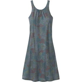 Prana Skypath Kleid Damen chalkboard dotty